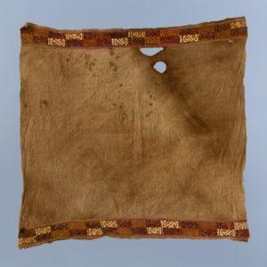 幾何文紋織縁飾付平織裂