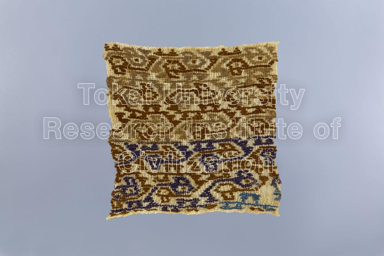 紋織縁飾付平織裂