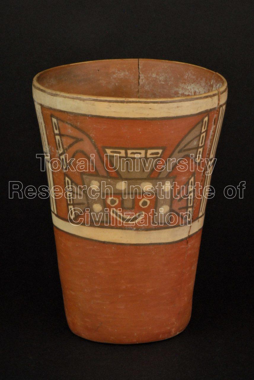 ビラコチャ神彩画ケーロ型深鉢