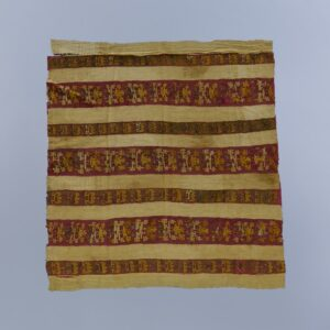 神人文綴織平織縫合裂